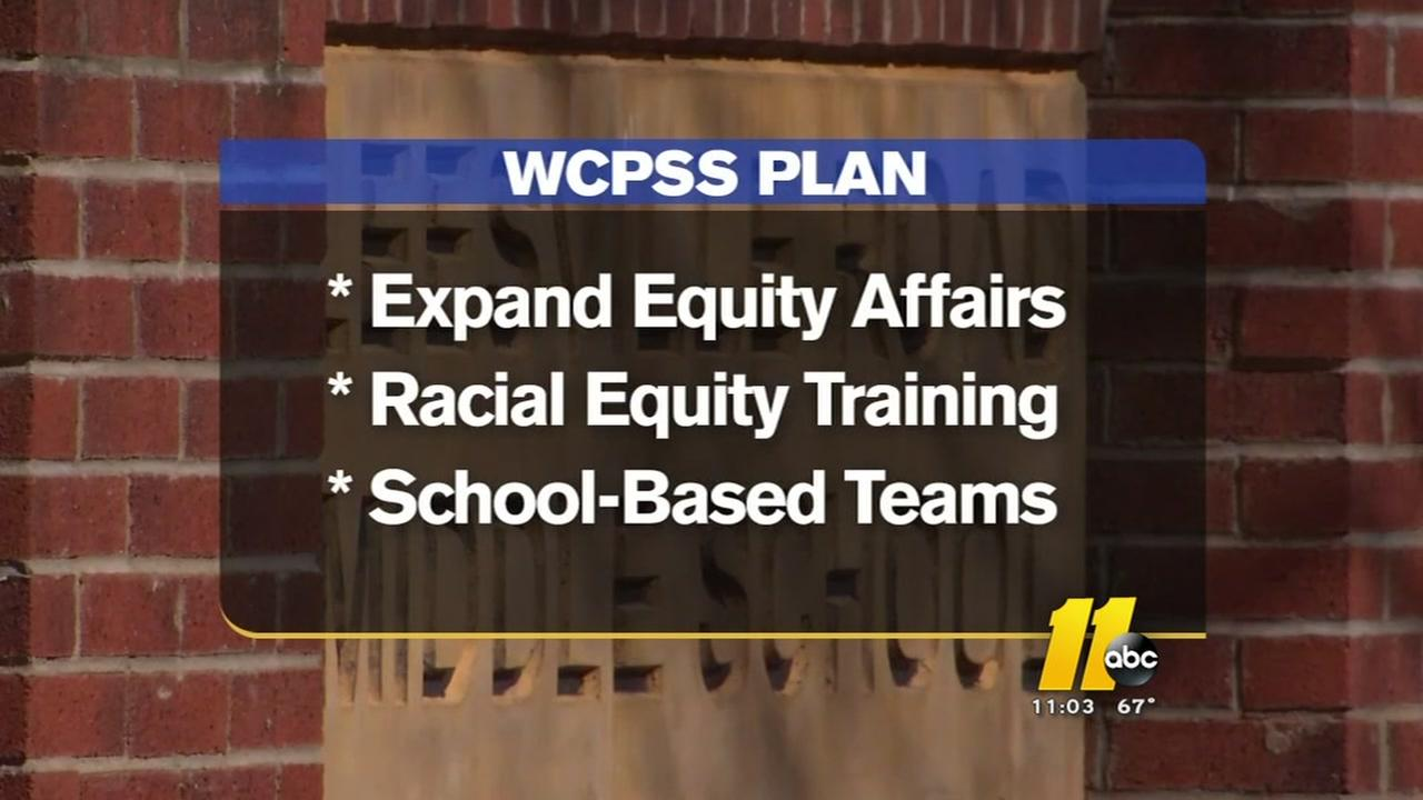 Plan to improve race relations in WCPSS takes shape