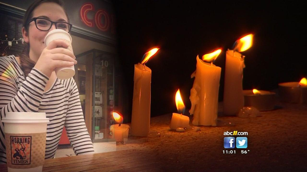 Classmates, friends hold vigil for NC State student