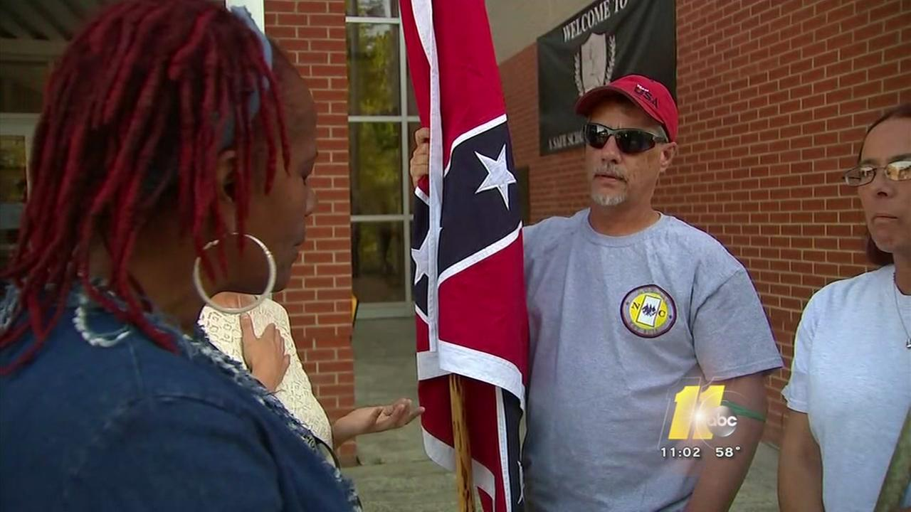 Passionate discussion over Confederate themes in Hillsborough