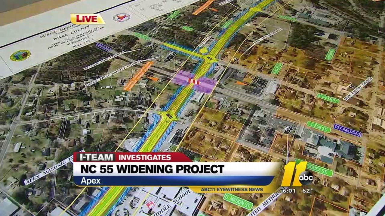 I-Team looks at NC 55 widening project