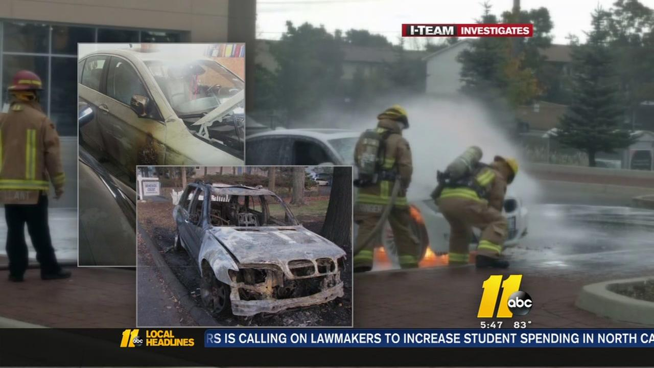BMW owners report mysterious fires