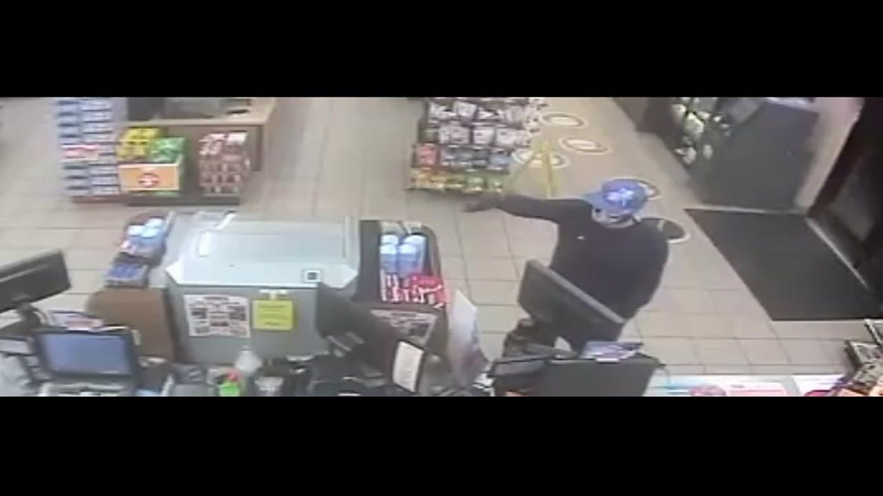 Circle K robbery video