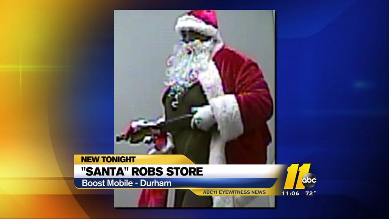 Santa boosts Boost Mobile in Durham