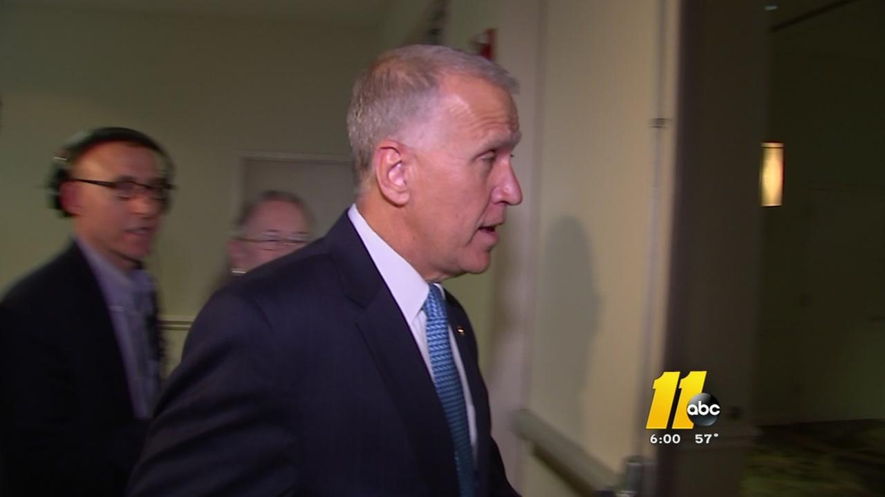 Sen. Tillis defers to Burr on Comey firing, Russia probe