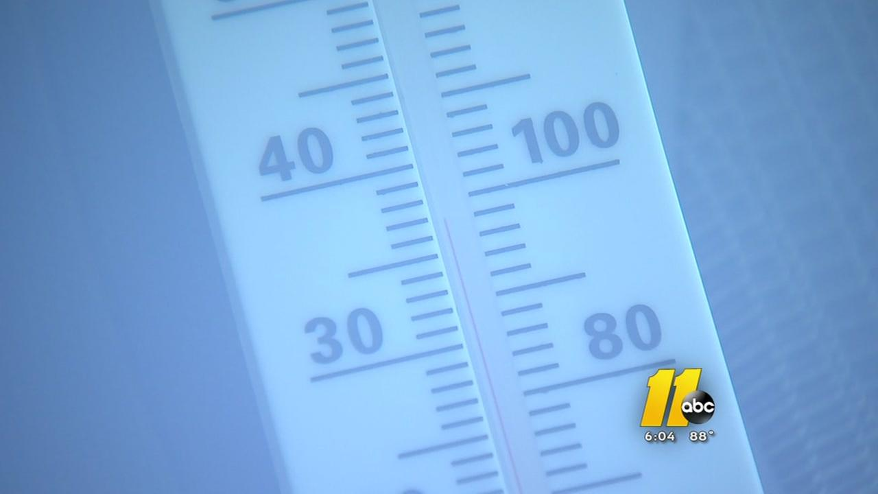 Temps soar in the Triangle, tips to stay safe in the heat