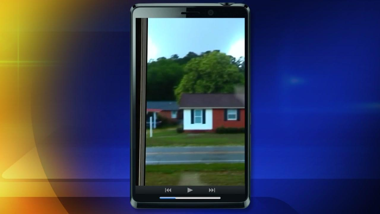Man captures cell phone video of the tornado