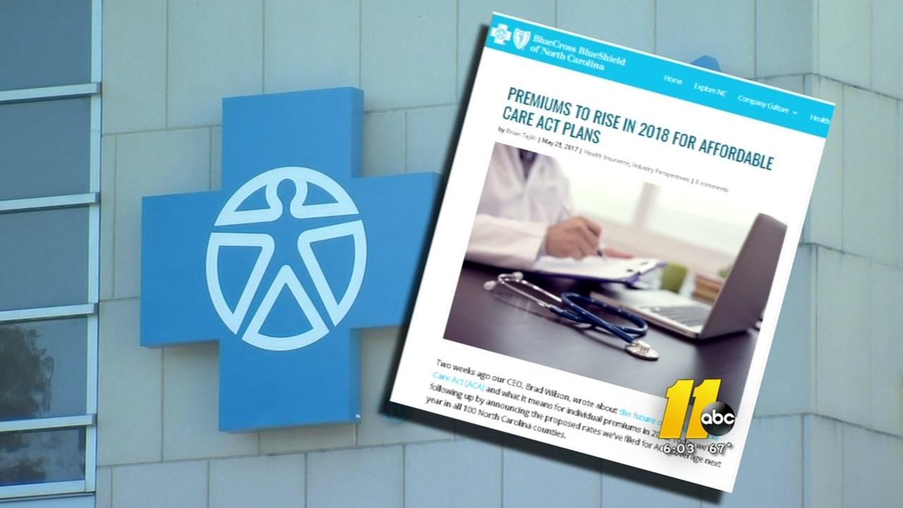Blue Cross Blue Shield requests premiums hike