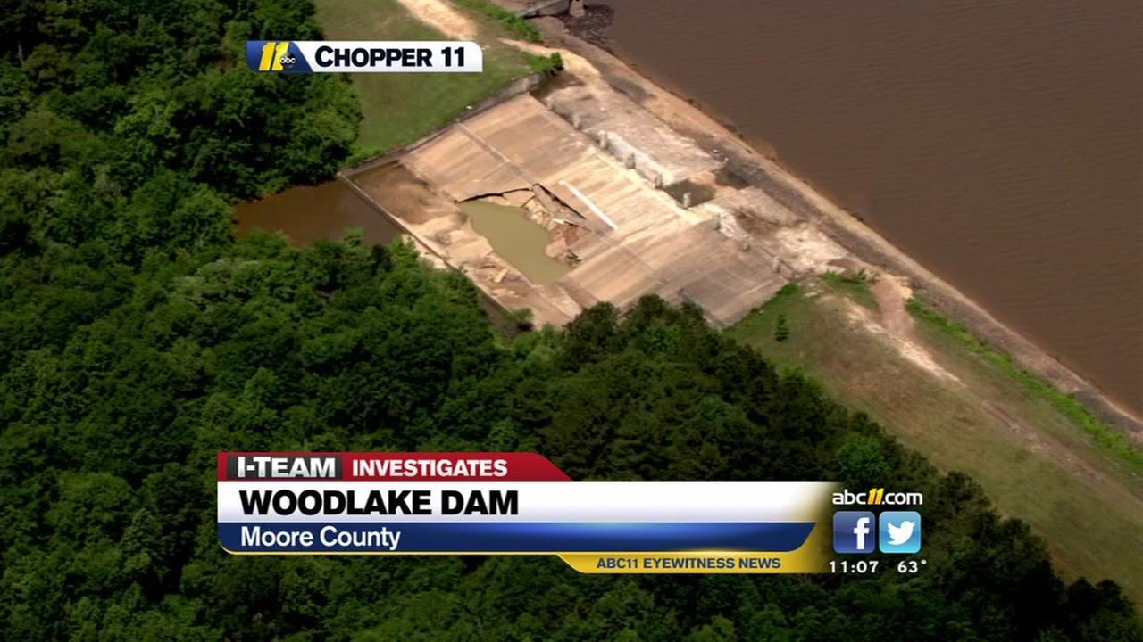 More problems at Woodlake Dam