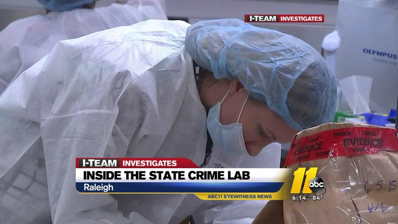 Inside the state crime lab