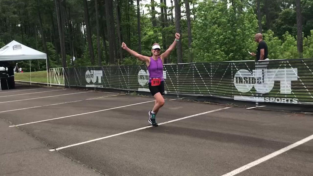 Diane Wilson preps for half-Iron Man