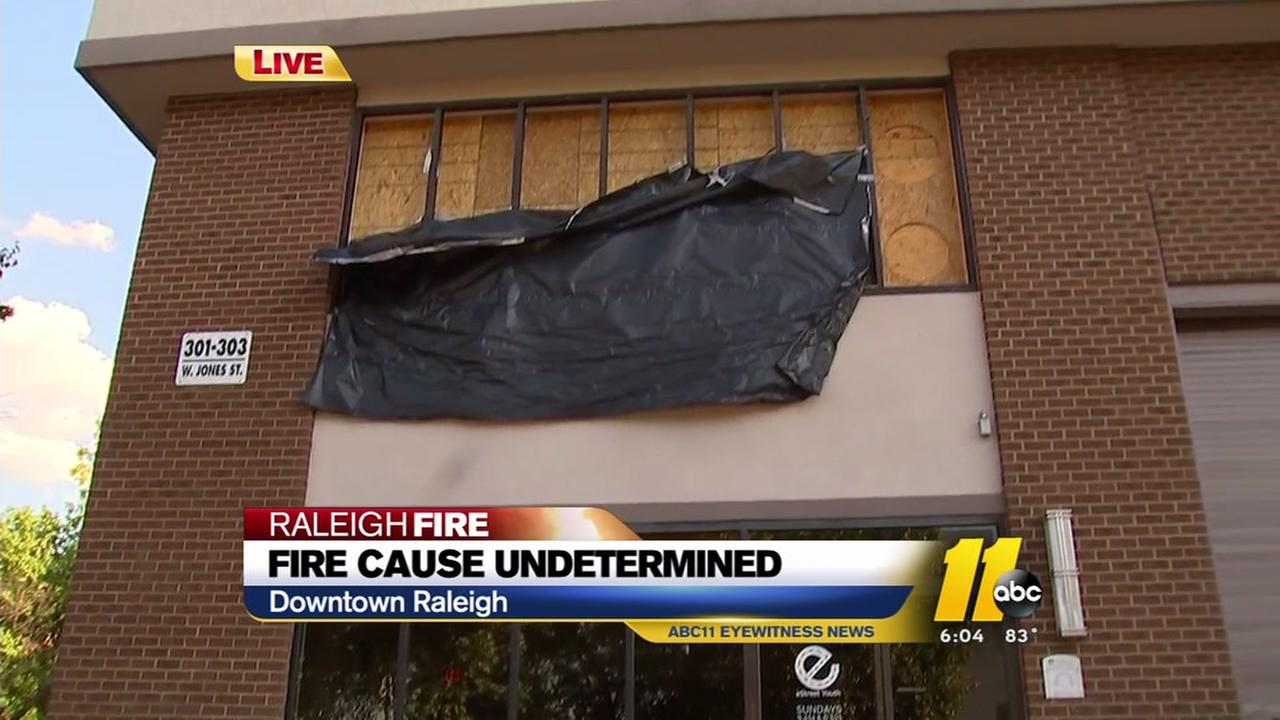 Cause of downtown Raleigh fire remains a mystery