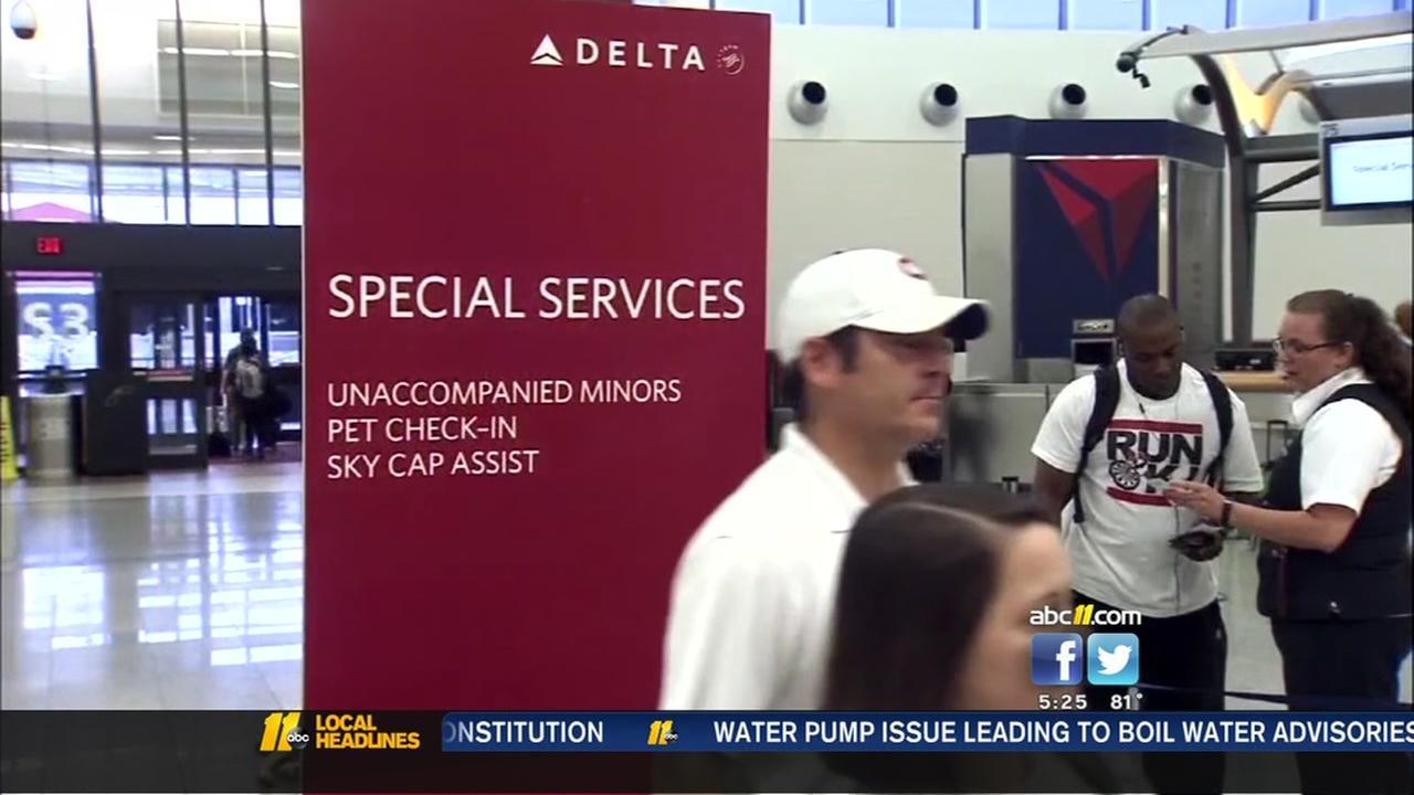 Dog bites passenger on Delta flight
