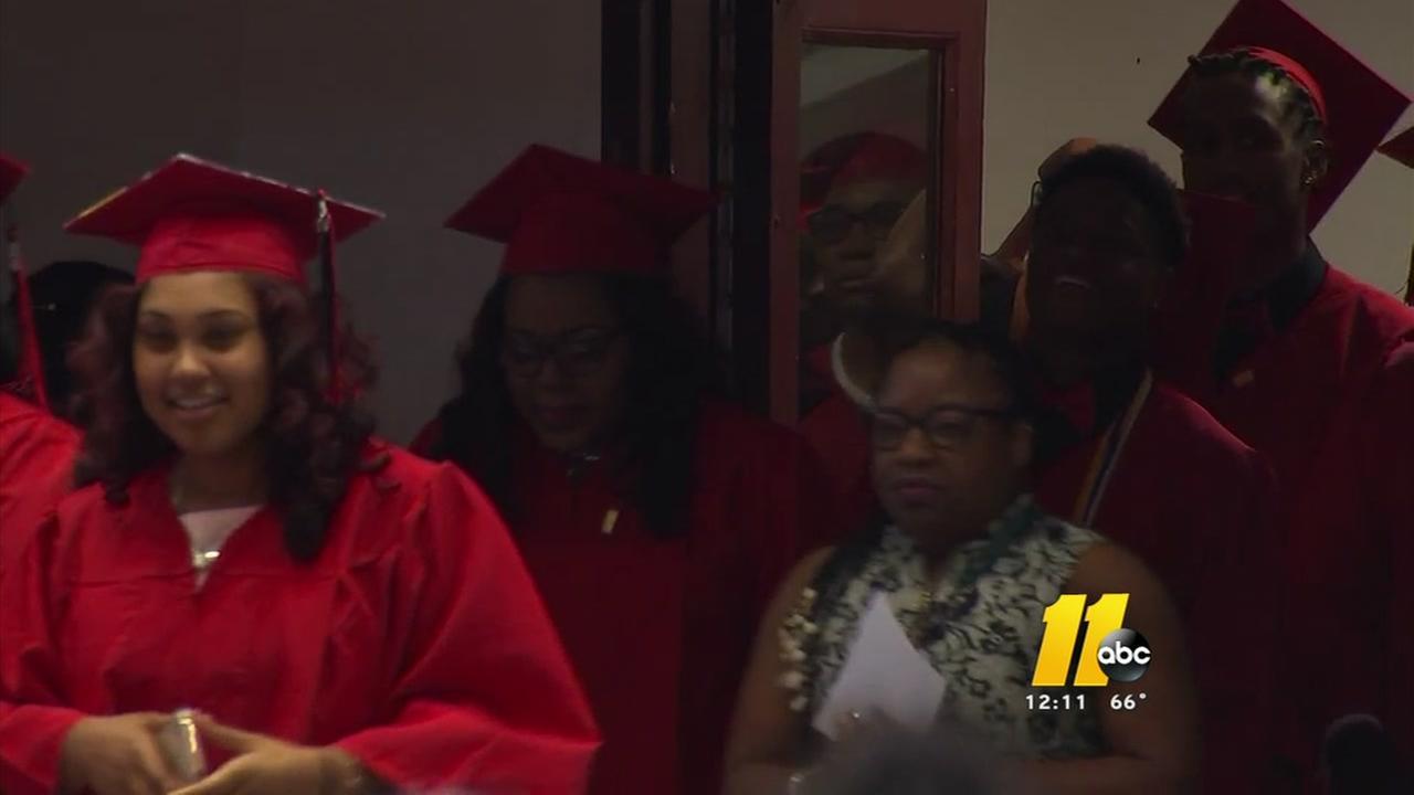 Bittersweet ending for Kestrel Heights graduates