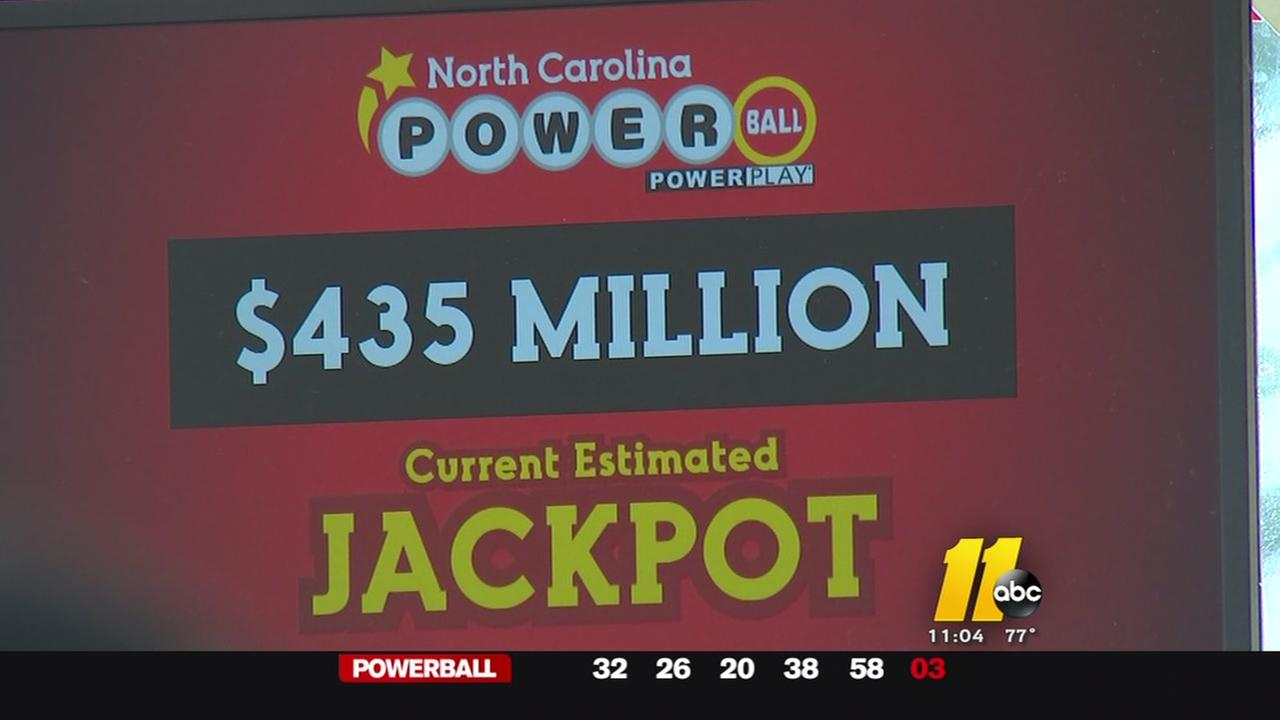 Powerball hits $435M, NC residents hope to win big