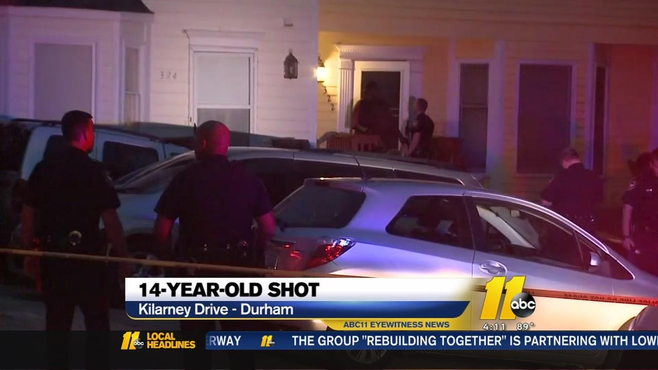 Neighbors shocked after 3rd child shooting in Durham