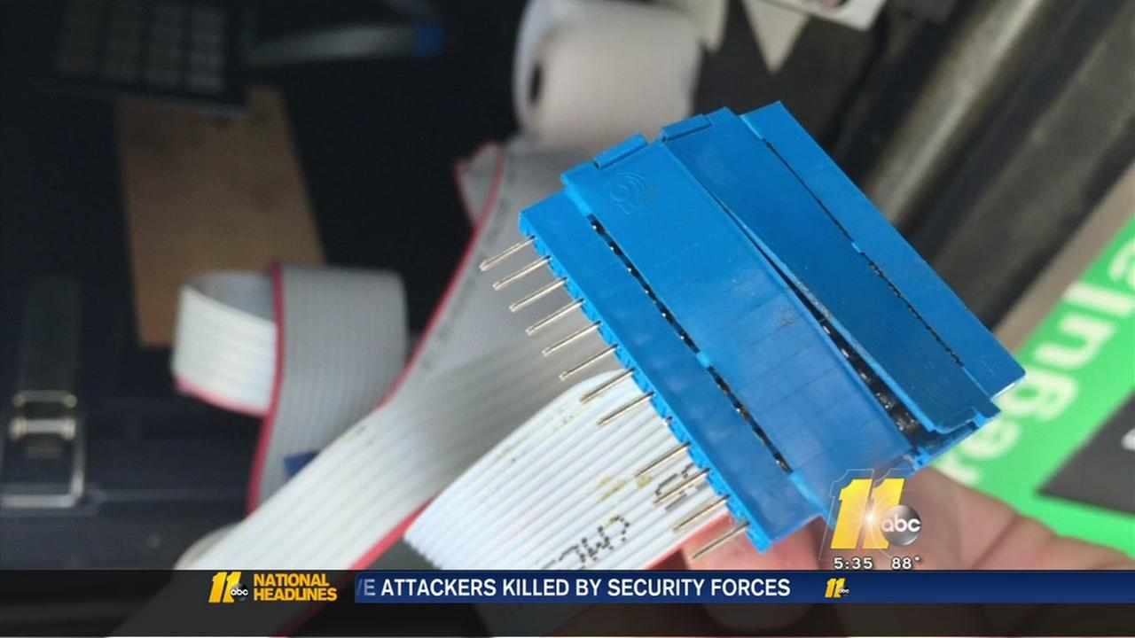 Credit card skimmers found at Spring Lake gas station