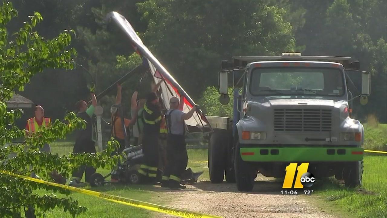 Raleigh pilot killed in ultralight plane crash east of Lillington