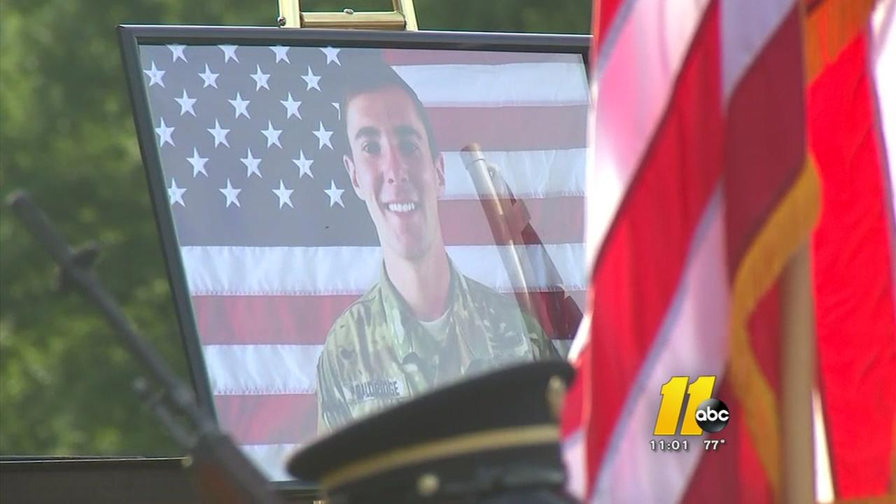 Youngsville honors North Carolina soldier killed in Afghanistan
