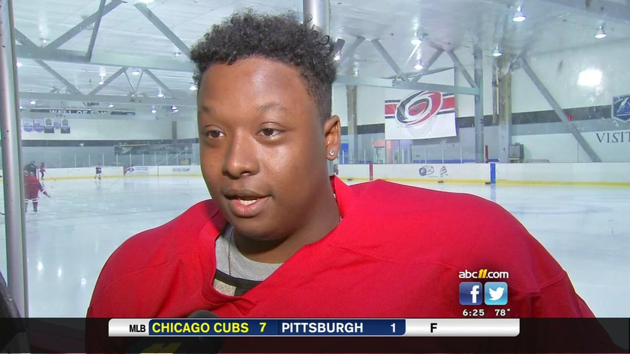 NC teens awarded scholarship from the NHL