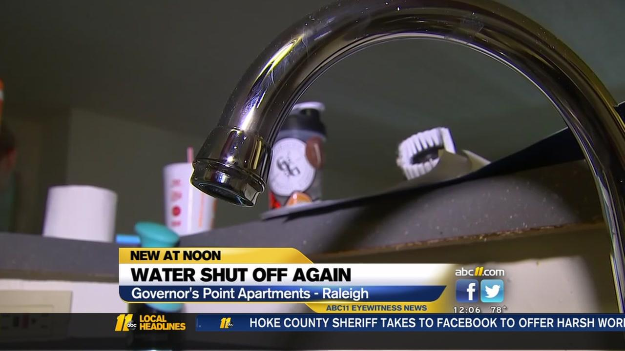Governors Point Apartments to shut residents water off