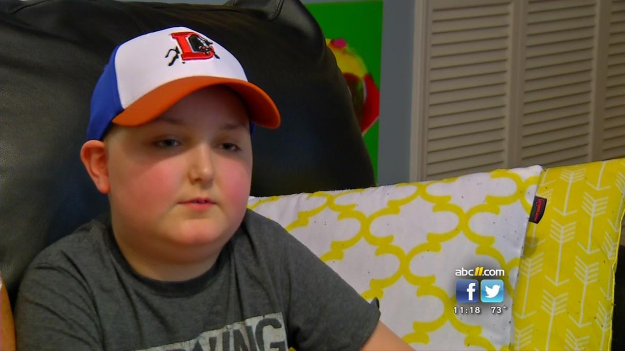 Durham boy fighting leukemia gets dream trip to Disney World