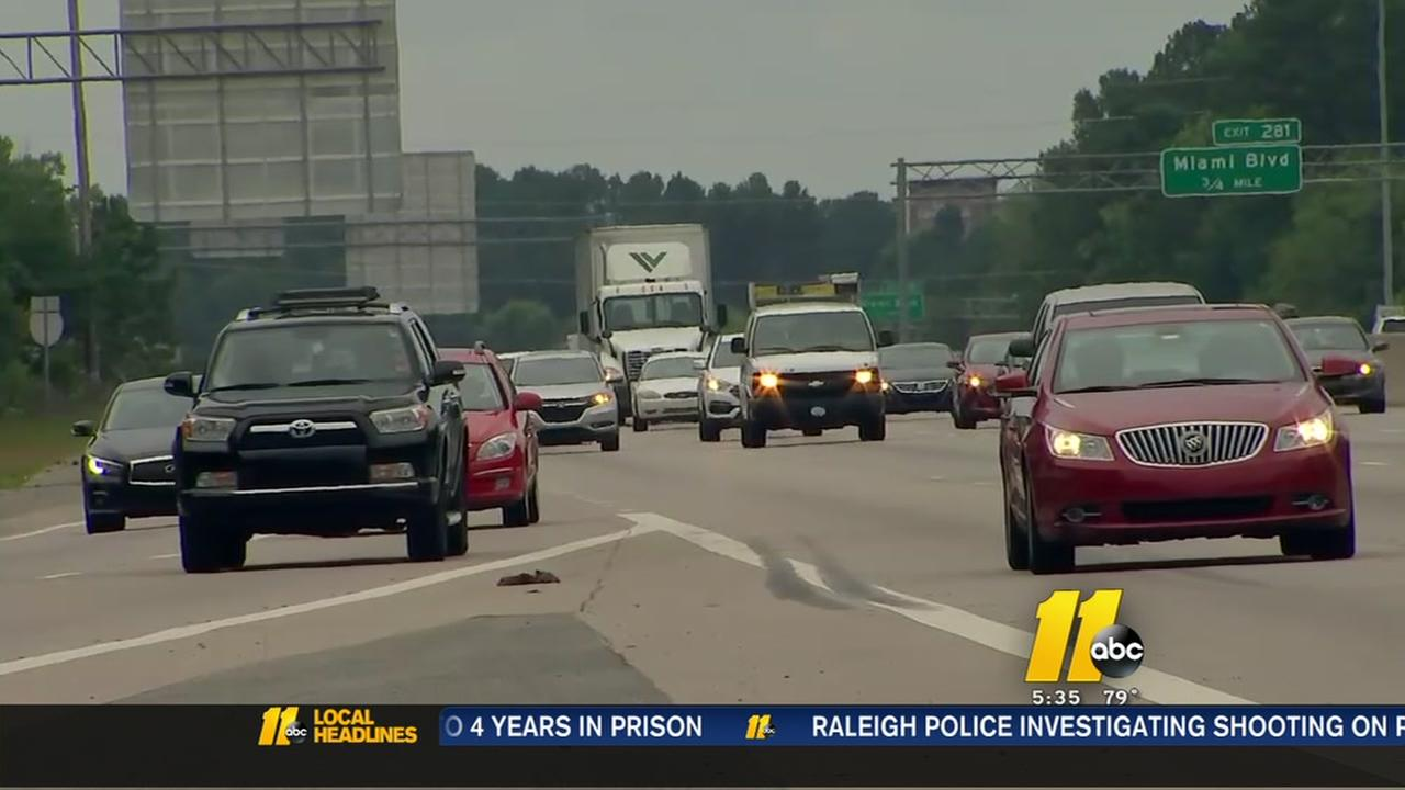 Expect delays from I-40-I-540 road work