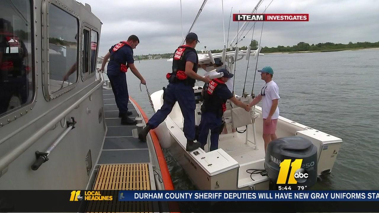 Coast Guard shows the I-Team what it takes to patrols the seas