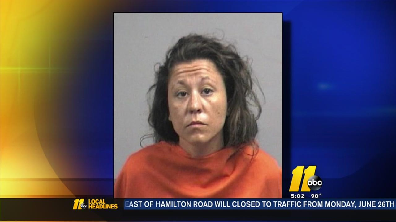 Woman charged after Goldsboro grandma locked out of home