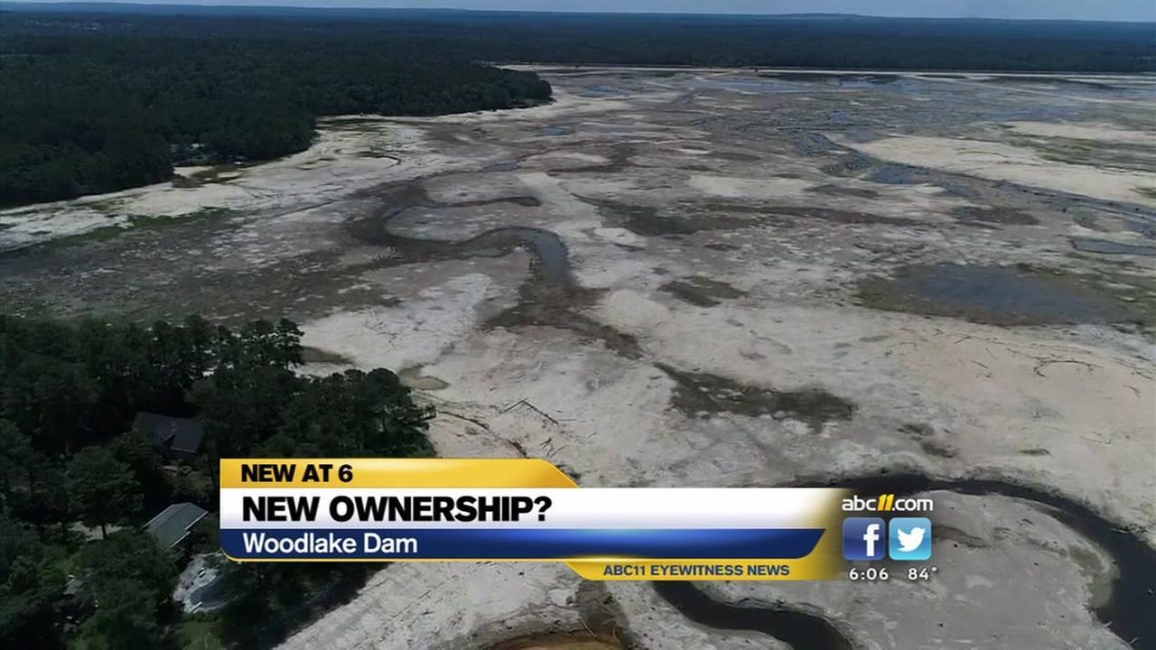 New ownership for broken Woodlake Dam
