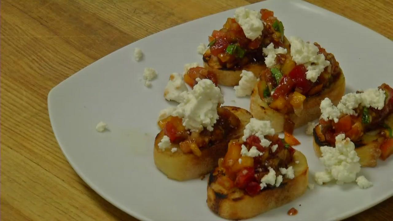 Try this simple yet delicious bruschetta recipe from 18 Seaboard.