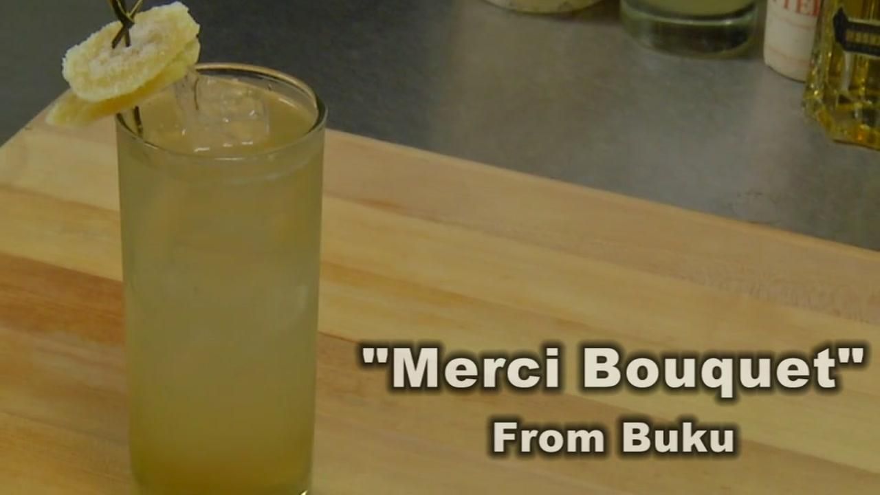Merci Bouquet Cocktail from Buku