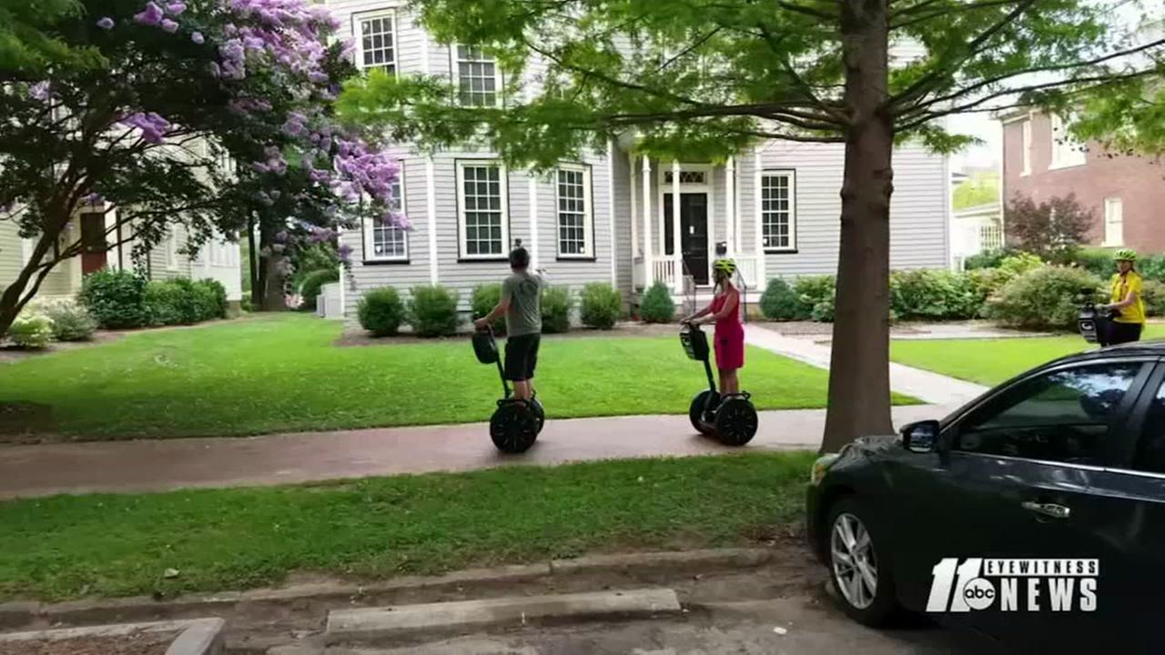 Learn about Raleigh by Segway