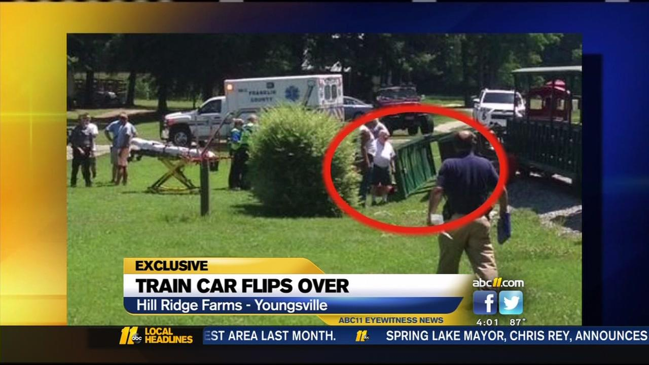 Local mom speaks out after train car flips over, injures family including autistic son