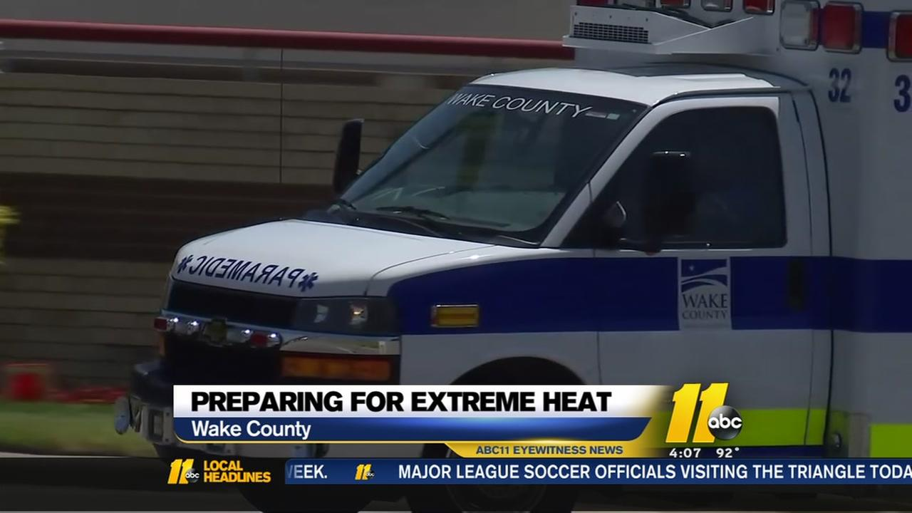 Preparing for extreme heat in Wake County
