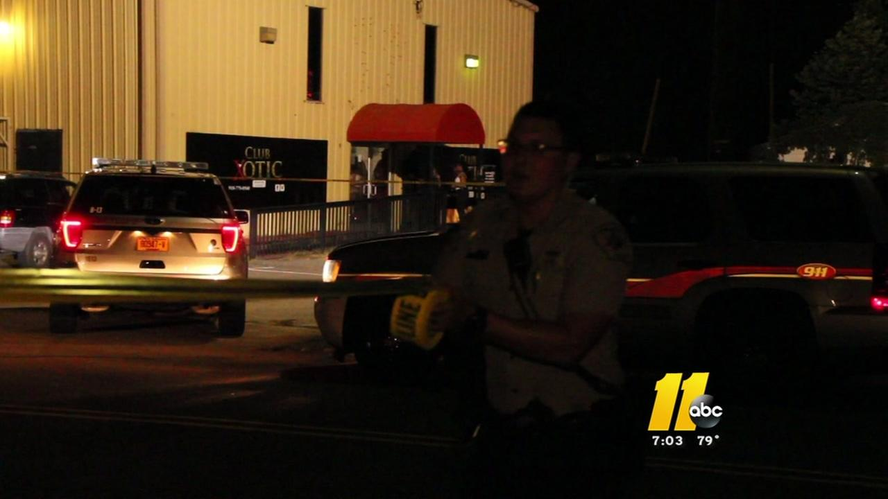 Cumberland County police investigate a shooting.