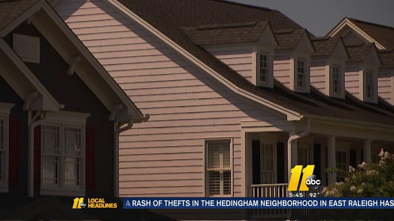 Raleighs booming housing market