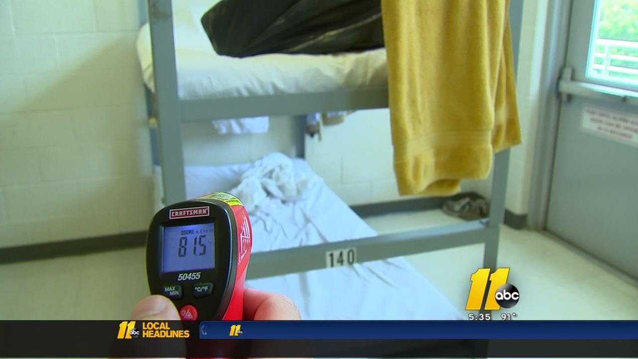 Raleigh mens shelter working to fix air conditioning problems