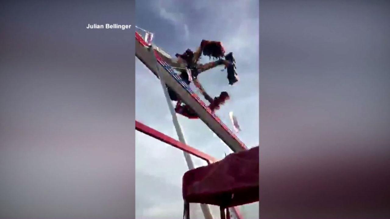 Fire Ball ride at Ohio State Fair