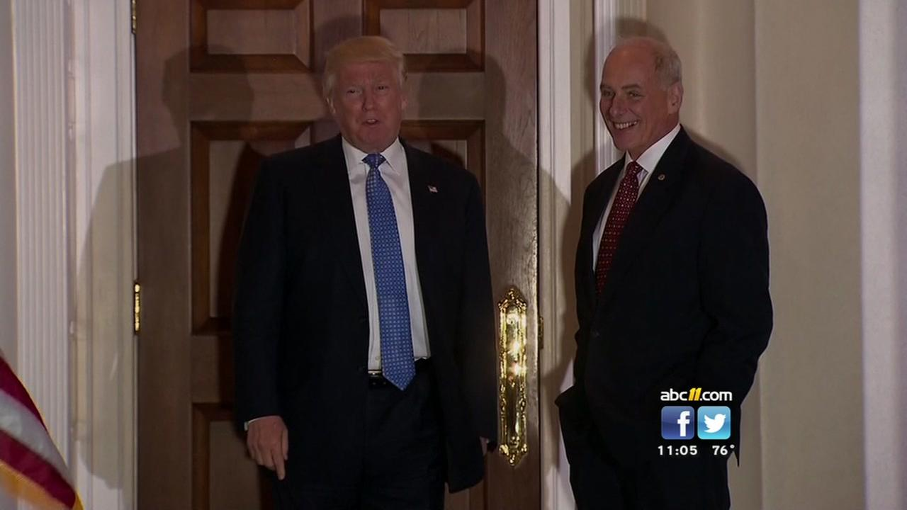 Kelly replacing Preibus as White House Chief of Staff