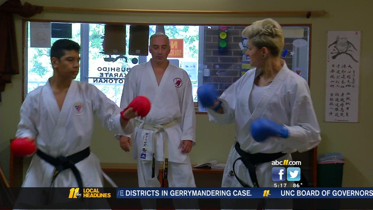 Triangle karate school cranks out champions