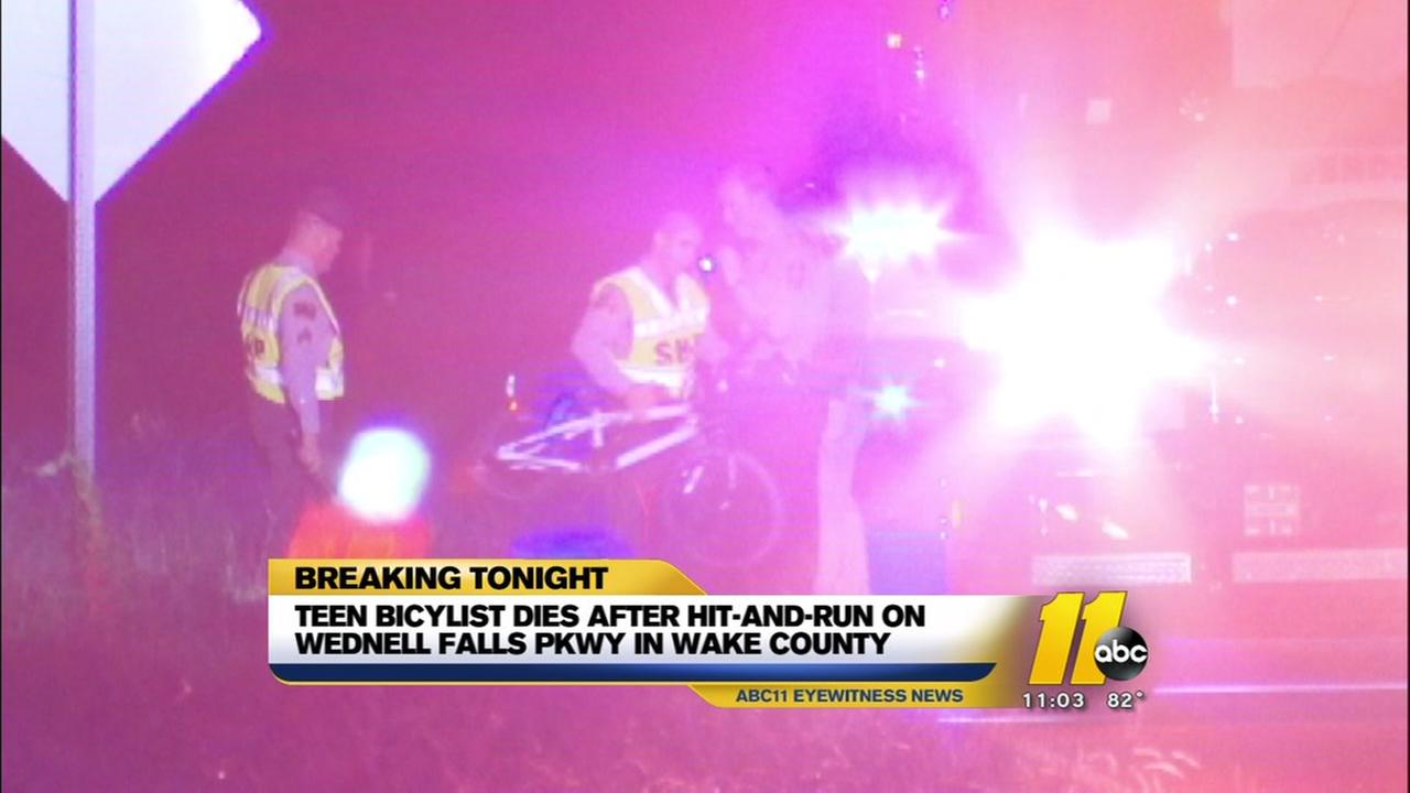 Teen bicyclist dies after hit-and-run