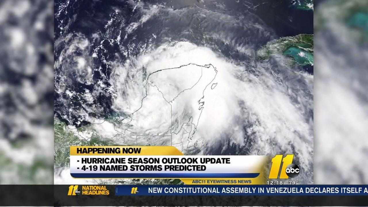 2017 Atlantic hurricane season to be most active since 2010, NOAA says