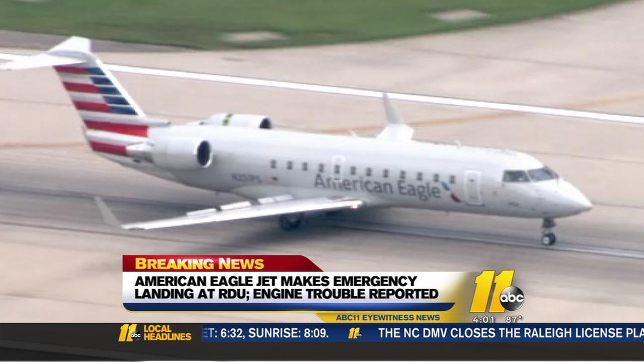 American Eagle flight makes emergency landing