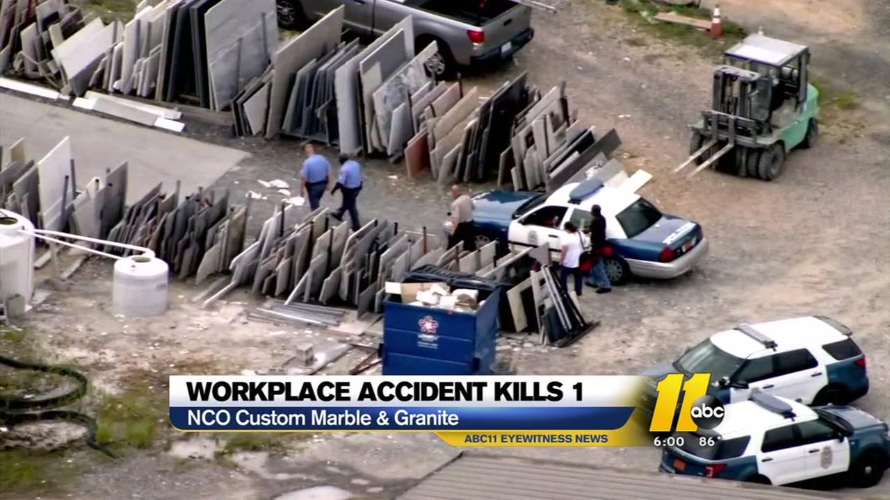 1 Dead In Workplace Incident In Raleigh Abc11 Com