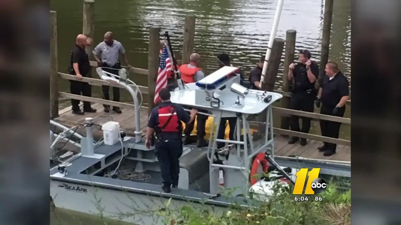 Deputies are awaiting an autopsy on a body found in the Cape Fear River.