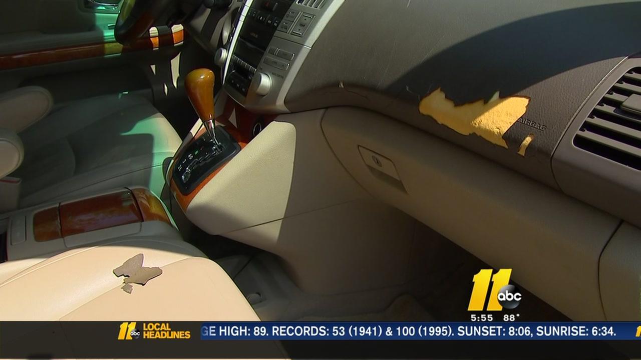 Lexus cracked dashboard