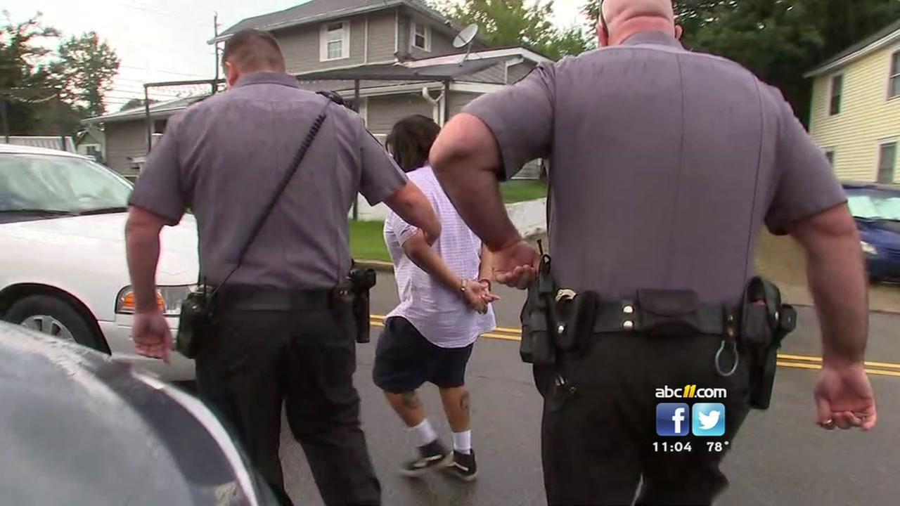 Durham deputies arrest protester
