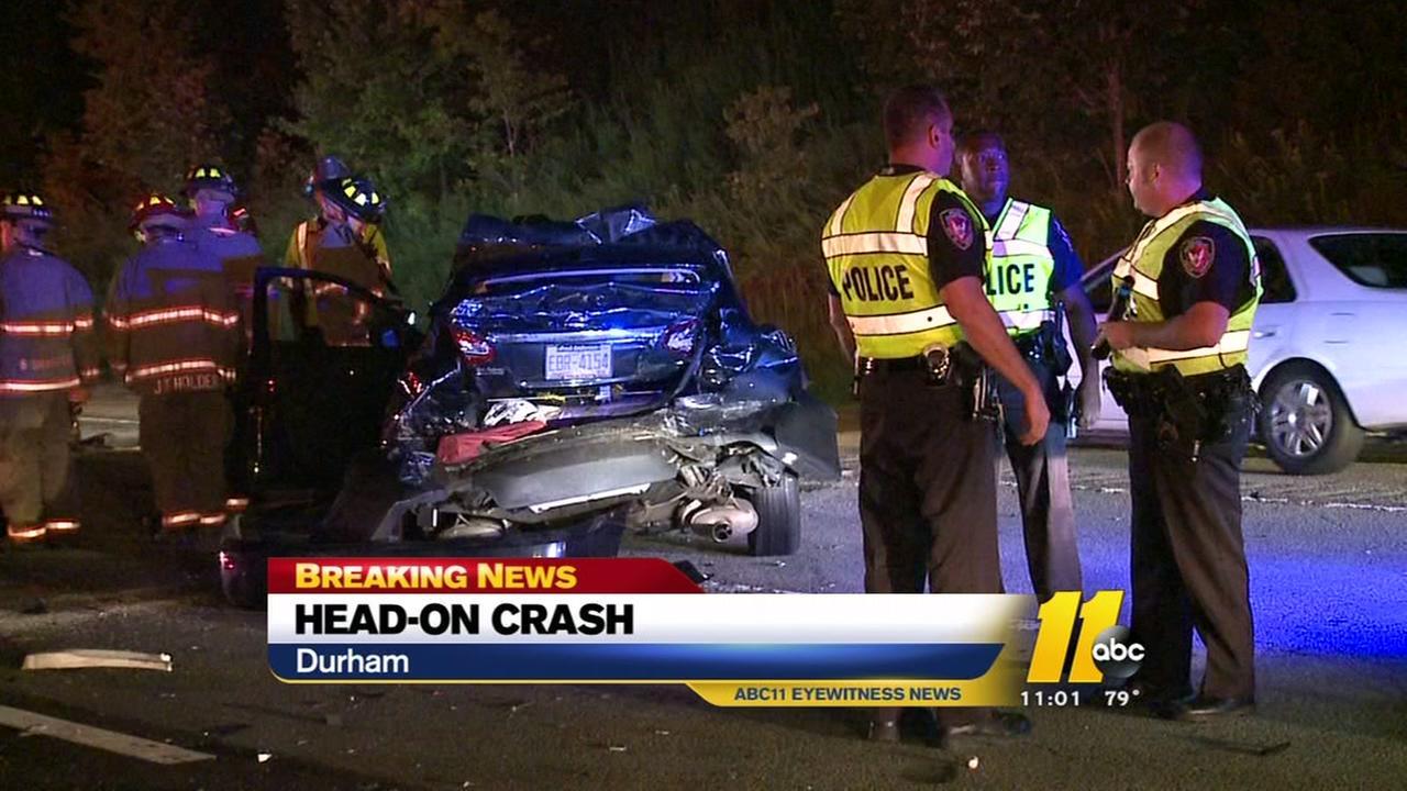 Head-on crash shuts down Highway 70