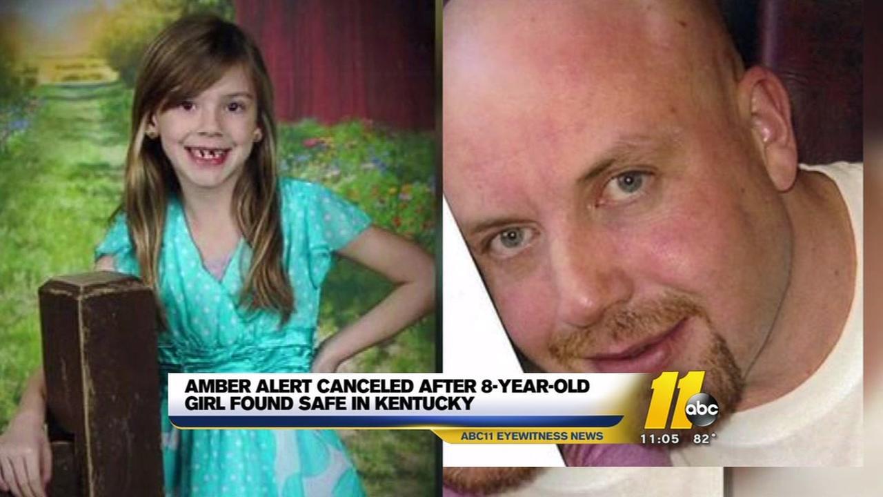 Amber Alert canceled after child found safe