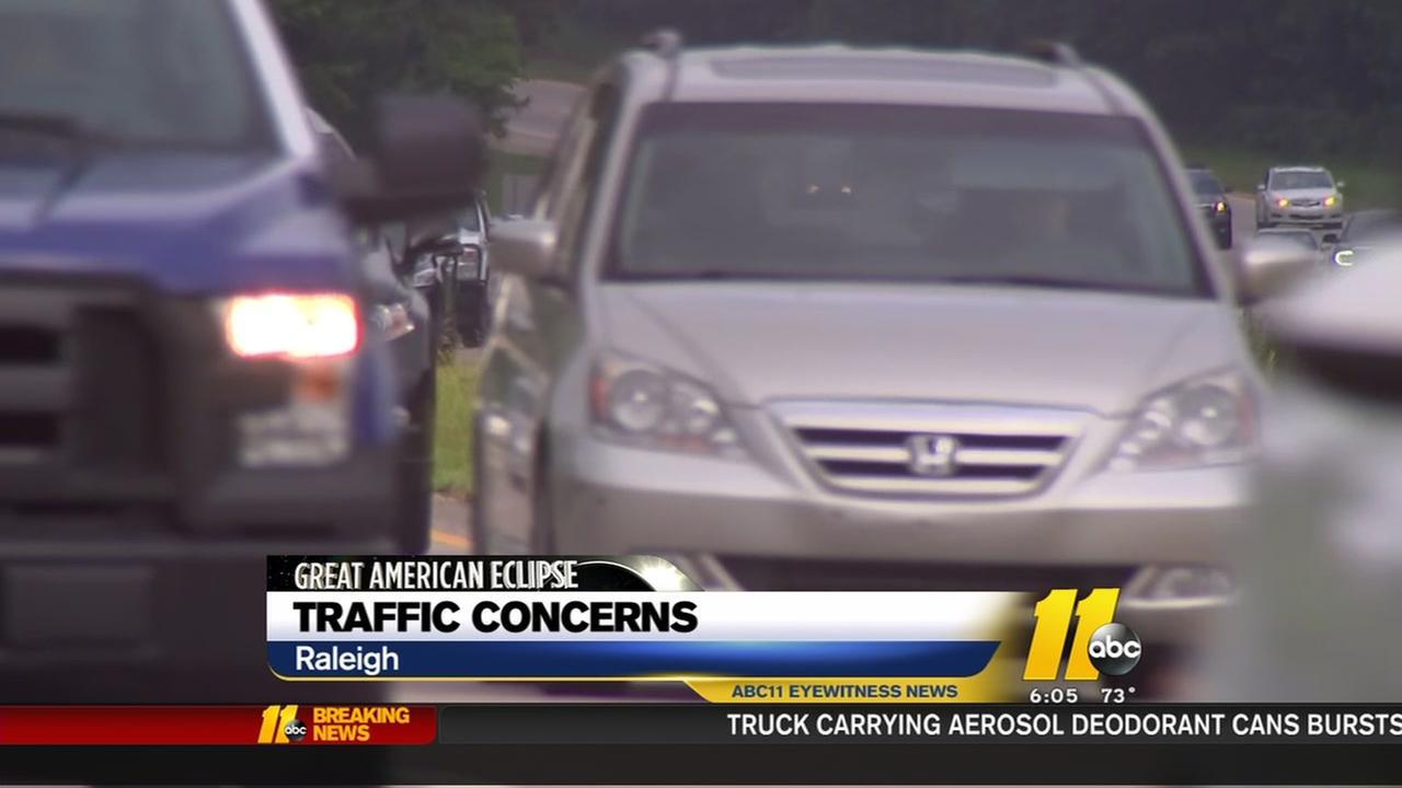 Eclipse traffic concerns